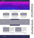 website template. modern flat...