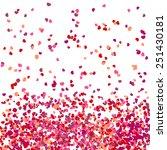 valentines background | Shutterstock .eps vector #251430181