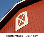 top of a red barn on a country... | Shutterstock . vector #2514539