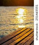 boardwalk on beach   Shutterstock . vector #251465551