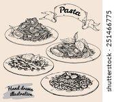 hand drawn vector illustration. ... | Shutterstock .eps vector #251466775