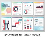 set of infographic vector ... | Shutterstock .eps vector #251470435
