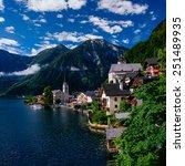 seaside villa. italy  | Shutterstock . vector #251489935