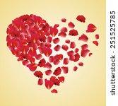 mesh illustrated for present  ... | Shutterstock .eps vector #251525785