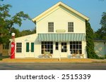 A General Store And Gas Station ...
