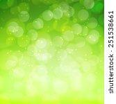 spring green bokeh abstract... | Shutterstock .eps vector #251538661