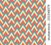 vintage chevron pattern of... | Shutterstock .eps vector #251548579