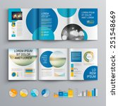 white brochure template design... | Shutterstock .eps vector #251548669