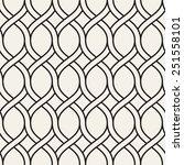 vector seamless pattern. modern ... | Shutterstock .eps vector #251558101