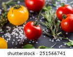 Farm Fresh Tomatoes With Fresh...