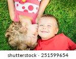 Happy Children Having Fun...