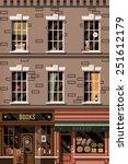 vector retro printable poster...   Shutterstock .eps vector #251612179