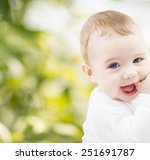 child  happiness and people... | Shutterstock . vector #251691787