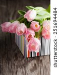 spring bouquet of colorful... | Shutterstock . vector #251694484