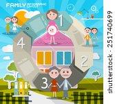 circle paper retro ui flat... | Shutterstock .eps vector #251740699