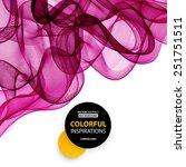 vector abstract purple smoky... | Shutterstock .eps vector #251751511