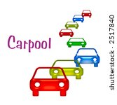 air pollution carpool sign... | Shutterstock . vector #2517840