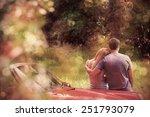 Loving Couple Admiring Nature...