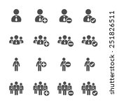 Business People Icon Set ...