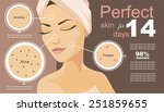 poster infographics. perfect... | Shutterstock .eps vector #251859655