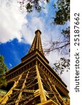 Stock photo eiffel tower in las vegas 25187662