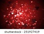digitally generated valentines... | Shutterstock . vector #251927419