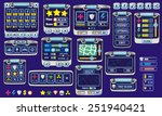 complete set of graphical user... | Shutterstock .eps vector #251940421