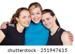 studio portrait of three young... | Shutterstock . vector #251947615