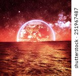 Surface Mars Elements Nasa - Fine Art prints