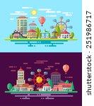 modern flat design conceptual... | Shutterstock . vector #251986717