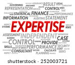 expertise word cloud  business... | Shutterstock .eps vector #252003721