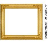 Golden Vintage Picture Frame...
