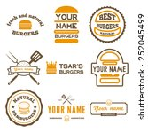 set of logo  labels  stickers... | Shutterstock .eps vector #252045499