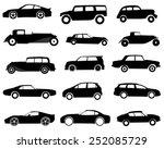 cars | Shutterstock .eps vector #252085729