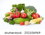 fresh vegetables | Shutterstock . vector #252106969