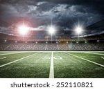 american football satdium | Shutterstock . vector #252110821