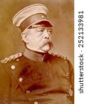 Small photo of Otto von Bismarck (1815-1898), Chancellor of Germany, known as the Iron chancellor, ca. 1880