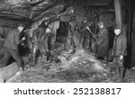 coal miners preparing to... | Shutterstock . vector #252138817