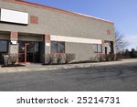exterior view of a small modern ... | Shutterstock . vector #25214731