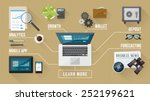 business and finance services...   Shutterstock .eps vector #252199621