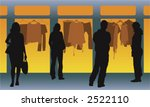 group of man and woman standing ... | Shutterstock .eps vector #2522110