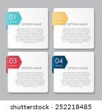 infographic design elements for ... | Shutterstock .eps vector #252218485