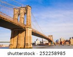 The Brooklyn Bridge  New York...