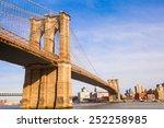 The Brooklyn Bridge  New York...