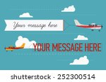 vector modern flat concept... | Shutterstock .eps vector #252300514
