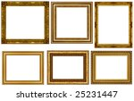antique frames collection... | Shutterstock . vector #25231447