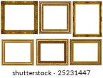antique frames collection... | Shutterstock . vector #25231447