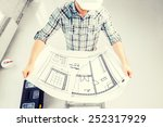 architecture and renovation...   Shutterstock . vector #252317929