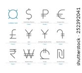 currency sign vector
