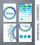 templates. design set of web ... | Shutterstock .eps vector #252392851